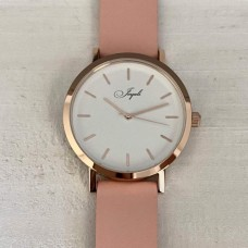 Rose Gold With Pink Band Watch